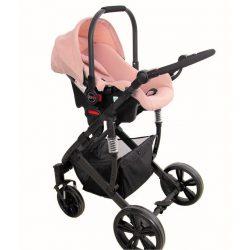 Trona para bebé regulable con doble bandeja. Modelo Estrella